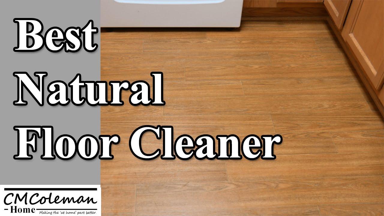Homemade Natural Floor Cleaner - YouTube