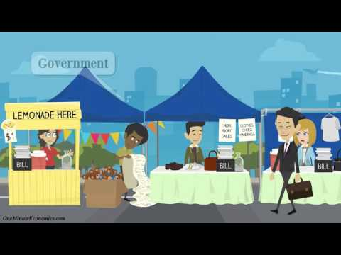 The Gross Domestic Product (GDP) and Government Revenue Explained in One Minute