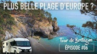 EP. 06 • La BRETAGNE en Camping-Car : plage de l'île Vierge + Parc d'Armorique
