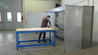 Water Dust Collection Machines for stone  manufacturing companies