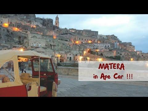 GIRANDO MATERA IN APE - Vlog Diario di Viaggio - K Around the World -