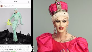 Sasha Velour Breaks Down Her Favorite Instagram Accounts | Teen Vogue