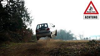 Flugstunde im Auto - Überlebt der Matiz? | Dumm Tüch
