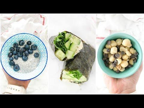 7 Healthy Snacks That SATISFY | easy paleo snacks