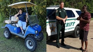Golfcart Gail Calls Police On Black Fat...