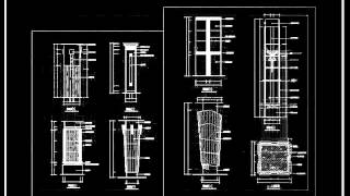 【25000 Cad Blocks Download  】roman Column Design Decorative Plate Bars