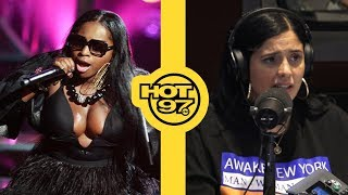 Foxy Brown Gets Booed Off Stage During NYC Performance Then Lil' Kim Song Plays