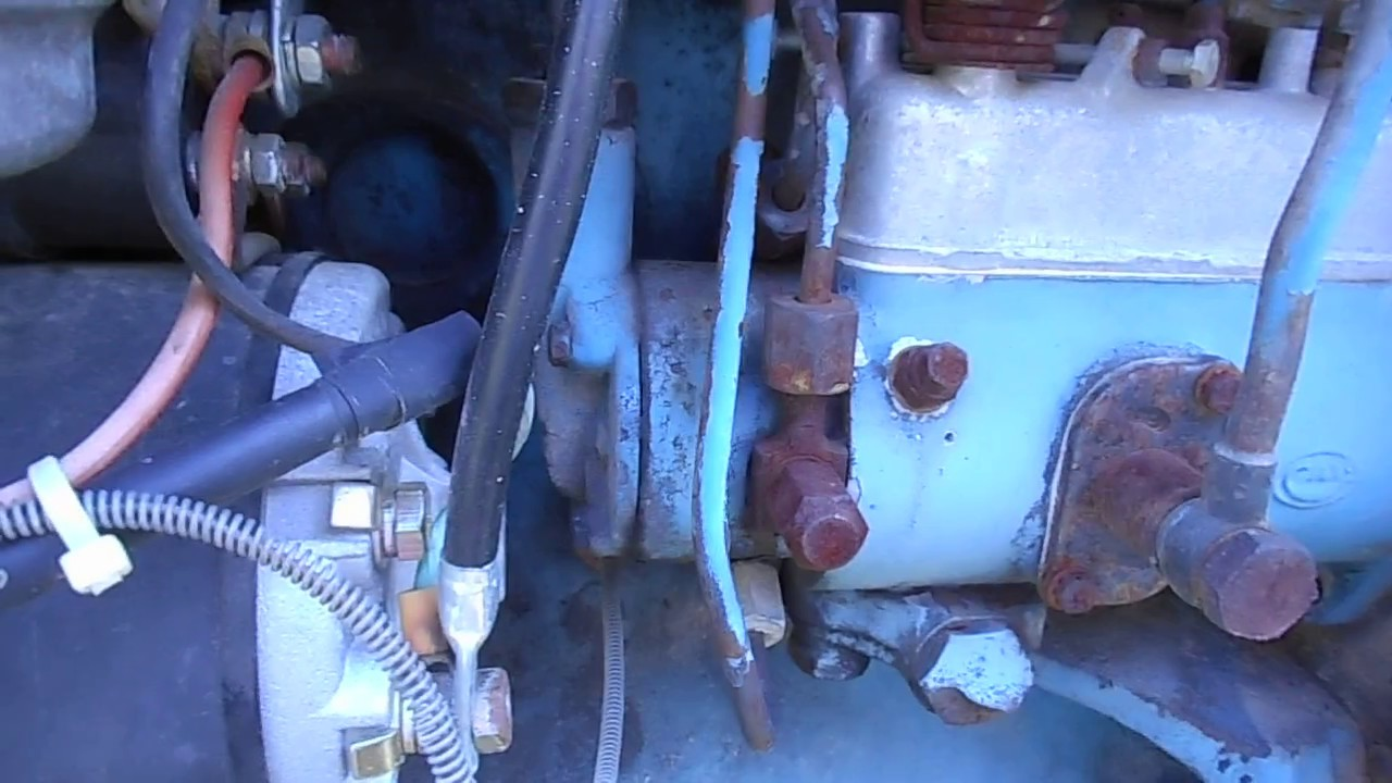 1964 Ford 4000 Tractor Wiring Diagram 2004 Vw Touareg Radio Injector Pump Youtube