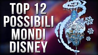 Kingdom Hearts 3 - TOP 12 Possibili Mondi Disney