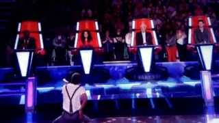 The voice uk 2013 Leah Mcfall vs CJ Edwards