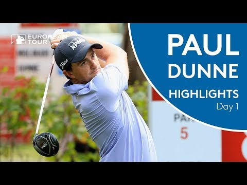 Paul Dunne Highlights | Round 1 | 2018 Trophée Hassan II