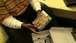 Microsoft Xbox 360 Slim 250gb Kinect Bundle UnBoxing