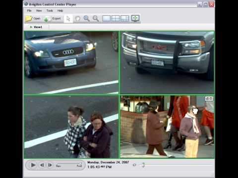 MR Fire and Security – High Definition CCTV – Intersection Example