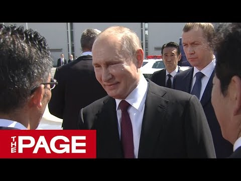 ロシアのプーチン大統領、G20大阪サミット出席のため来日(2019年6月28日)