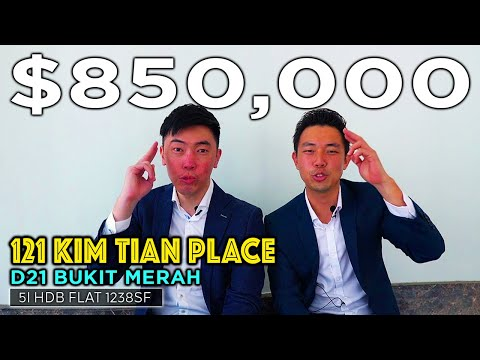 Selling Singapore Home Tour Episode 21 : D03 Bukit Merah Kim Tian Place 5I HDB Flat
