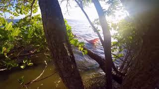 mermaid footage caught on private beach