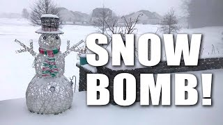 'Snow bomb' snowstorm hits NJ — January 4, 2018