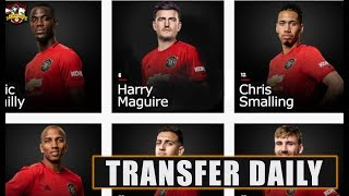 Man Utd agree £80m Harry Maguire transfer with medical set for tomorrow? Transfer Daily