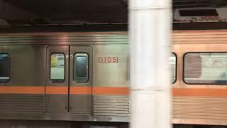 지금은 폐차된 부산지하철 1호선 구형 5편성 출고