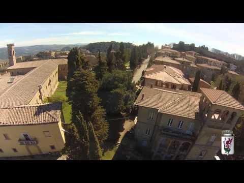 VOLTERRA DALL'ALTO CON DRONE DR-ONE