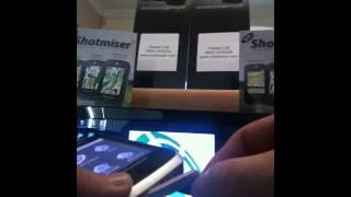 Shotmiser G700 firmware update demo