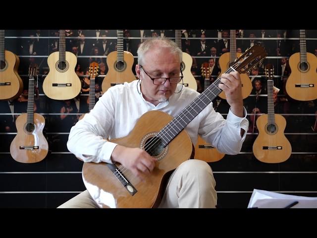 Salvador Cortez CC-25 | Chitarra classica | Guitar test by Leonardo Gallucci
