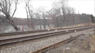 2 MBTA COMMUTER RAIL TRAINS