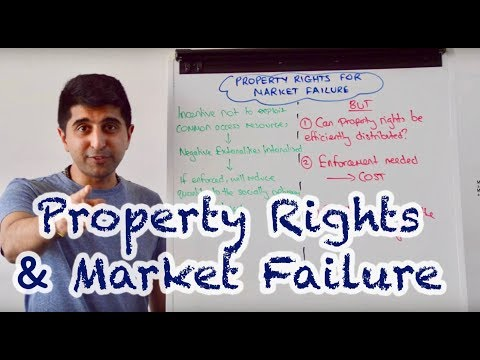 Y1/IB 34) Property Rights and Market Failure