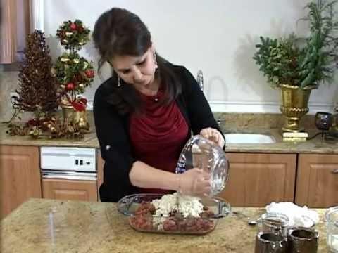Samira's Kitchen Episode #17 - Pacha (Stuffed Tripe) باجة عراقية, Rosettes (Fried Cookies)