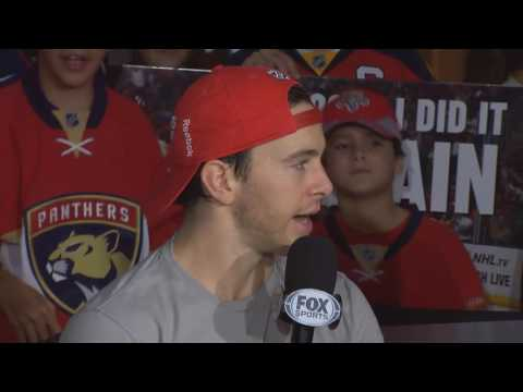 Jonathan Marchessault -- Florida Panthers vs. Detroit Red Wings 10/15/2016