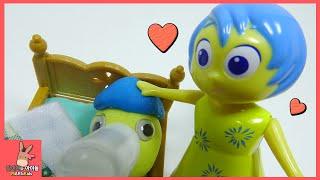 귀여운 아기 함께 인사이드 아웃 기쁨이 탄생했어요 ♡ 플레이도우 만들기 장난감 애니 놀이 Inside Out Play Doh Toy | 말이야와아이들 MariAndKids