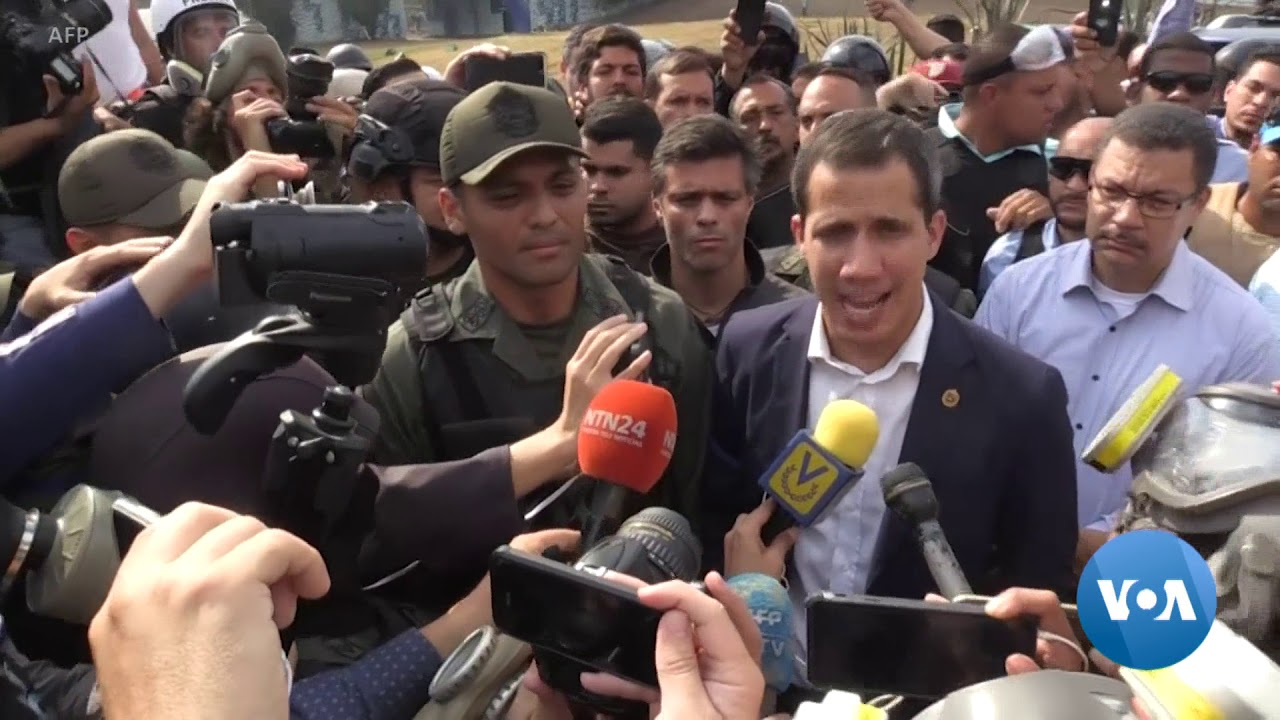 In Venezuela, Guaido Remains Free Amid Crackdown on Opposition
