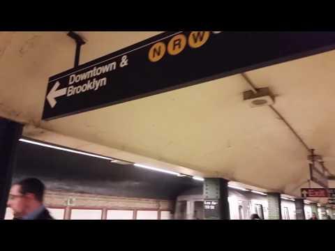 NRWQ Trains Lexington 59th to 49th subway Stations