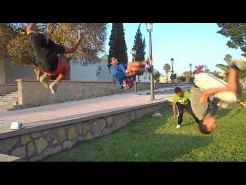 youssoufia 2014 tricks parkour breakdance