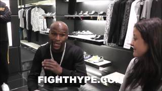 FLOYD MAYWEATHER DISCUSSES HOW HE WAS INTRODUCED TO THE FINER THINGS IN LIFE