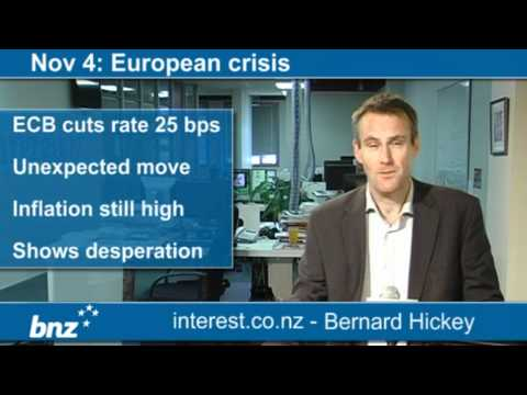 90 seconds at 9 am: European crisis (news with Bernard Hickey)