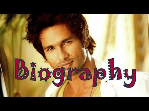 Shahid Kapoor Biography | Shahid Kapoor Birthday wish | Shahid Kapoor Biopic