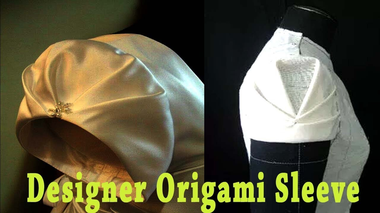 Designer sleeves cutting and stitching in tamil origami sleeve designer sleeves cutting and stitching in tamil origami sleeve sleeve design jeuxipadfo Gallery