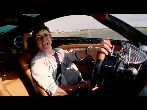 Top Gear. Хамонд кричит от восторга в Zonda