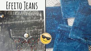 Efeito Jeans em qualquer superfície