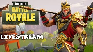 New Wukong Skin - Fortnite Battle Royale Gameplay - Xbox One X - Solo - Livestream