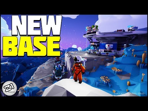 Base BUILDING New Base Design! Astroneer Update 9.0 Gameplay E6 | Z1 Gaming