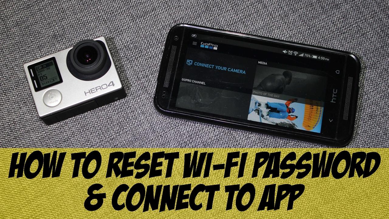 Gopro hero 3 password recovery - How To Reset Gopro Hero4 Wi Fi Password How To Gopro