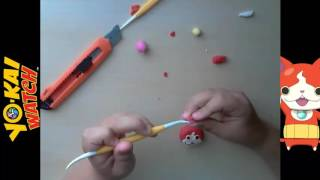Tutorial plastilina | Clay tutorial | Yo-Kai Watch | Jibanyan