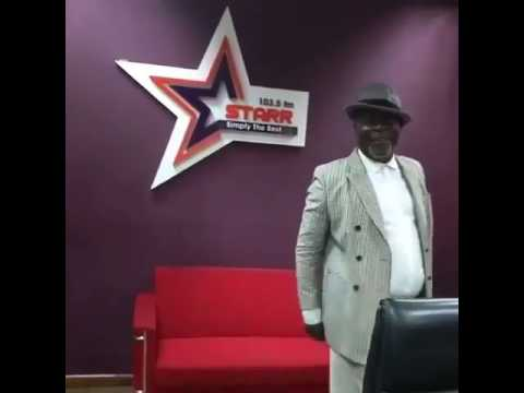 WATCH ACTOR KOFI ADJORLOLO SHOWING HIS DANCE MOVES