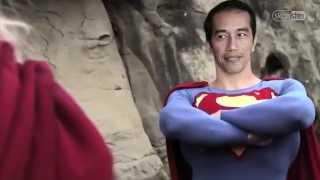 """Jokowi VS Prabowo """"Versi Superman vs Thor"""""""
