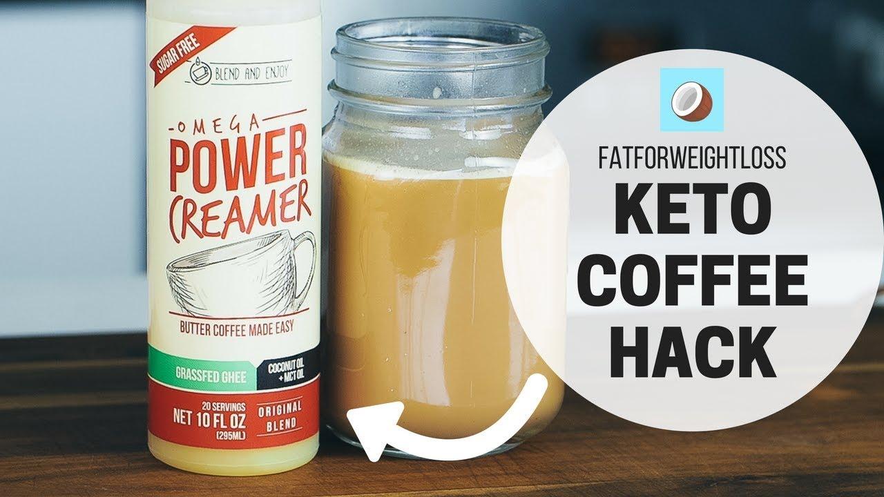 Keto Coffee Hacks using Omega Power Creamer - YouTube