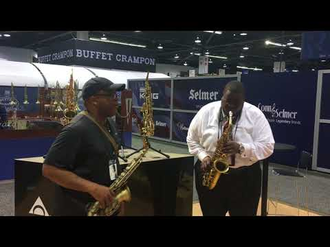 NAMM 2018  Video Moment 1, Playing the blues with Brian E. Miller