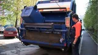 Смотреть видео вывоз мусора в в Санкт-Петербурге строительного