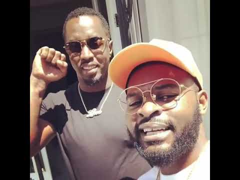 P.Diddy and Falz  in Lekki Lagos Nigeria today